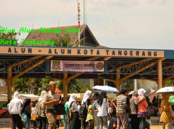 Alun-Alun Ahmad Yani Tangerang