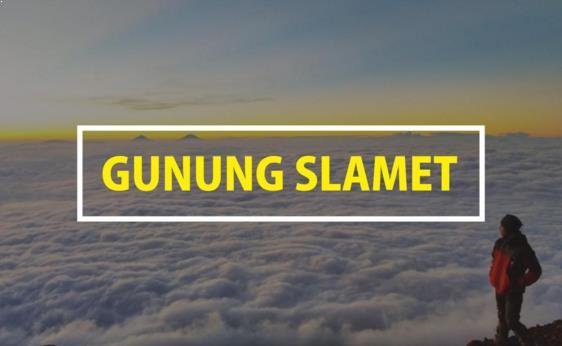 Explore Gunung slamet