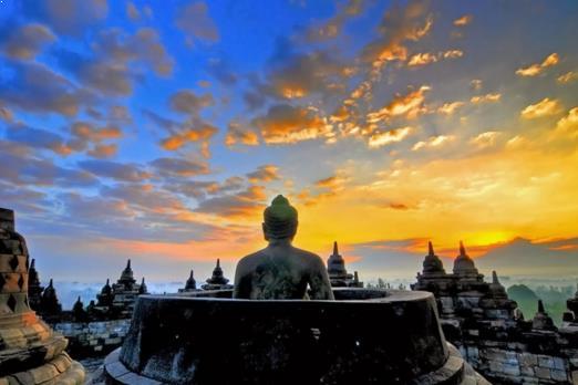 Foto Candi Borobudur - Magelang Jawa Tengah