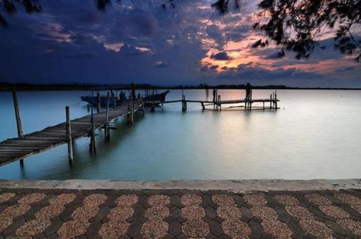 Foto Pantai Marina Semarang