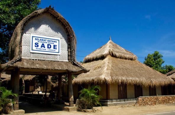 Foto Rumah Adat Budaya Dusun Sade Lombok