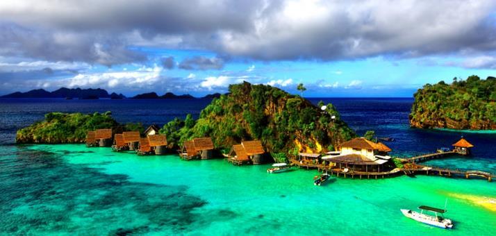 Foto pulau salawati raja ampat