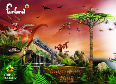 Funland Mickey Holiday Medan