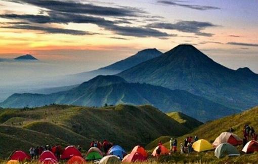 Gambar Gunung Prau Dieng