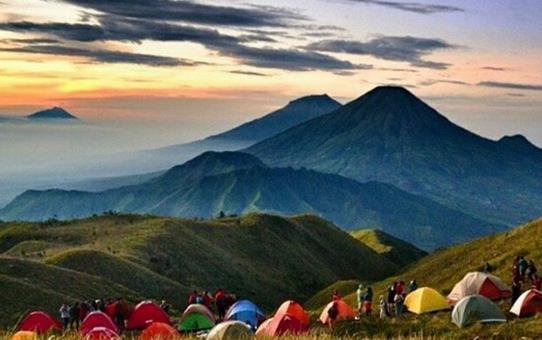 Gambar Gunung Prau Wonosobo