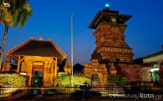 Gambar Menara Masjid Kudus