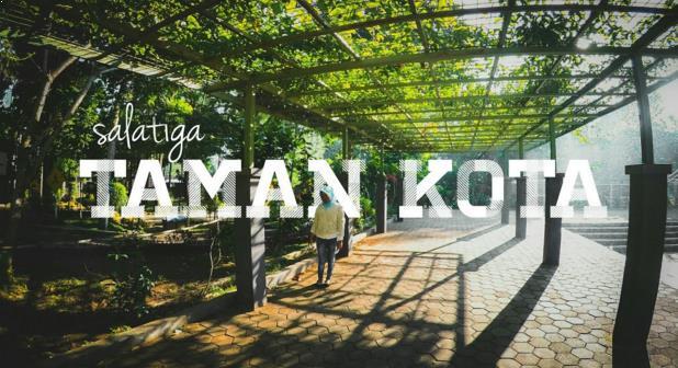 Gambar Taman Kota Salatiga
