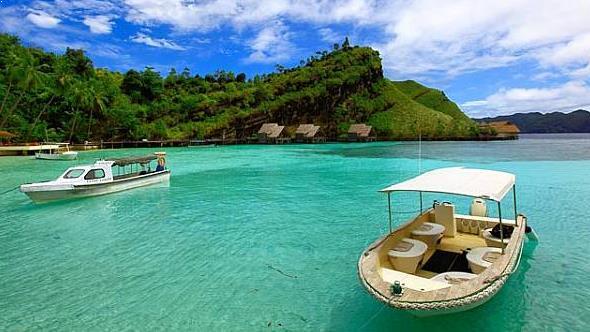 Gambar Tempat Wisata Pulau Misool Papua