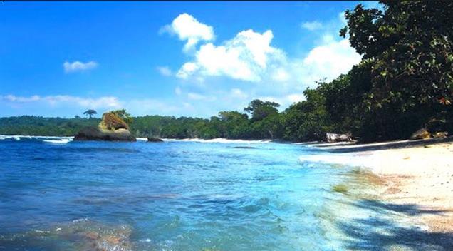 Gambar Wisata Pantai di Nusakambangan Cilacap
