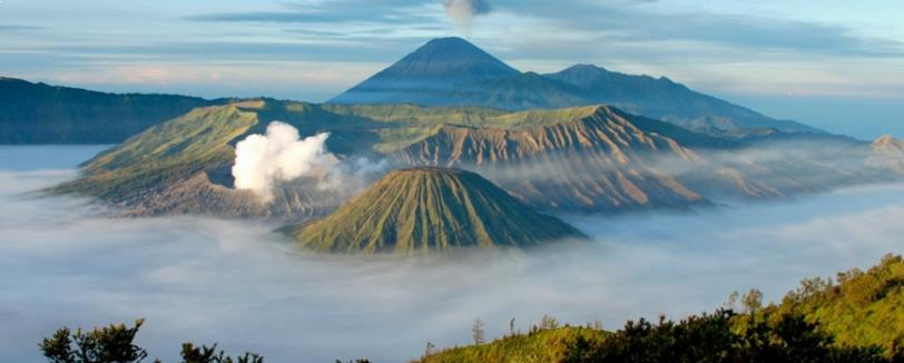 Gunung Tangkuban Perahu Jawa Barat