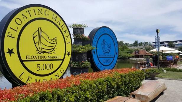 Photo Floating Market Lembang Bandung