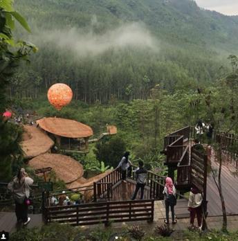 Lokasi The Lodge Maribaya Lembang