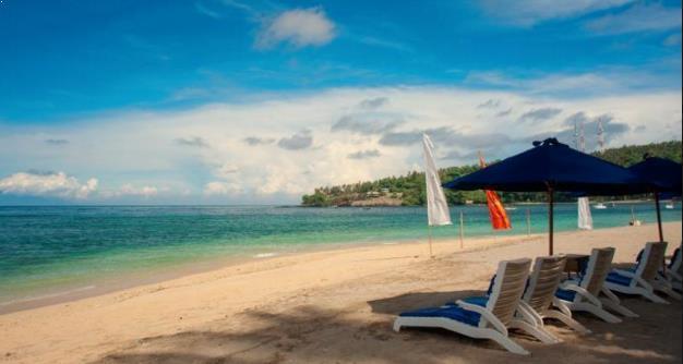 foto pantai senggigi lombok