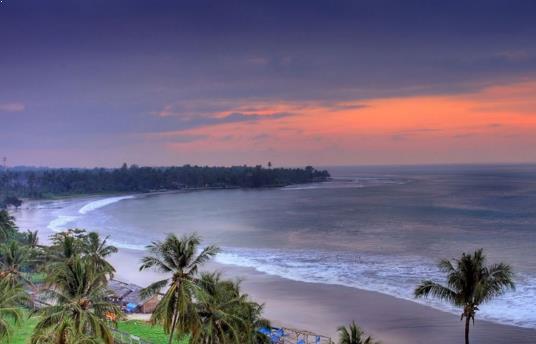 Foto Pantai Anyer Banten