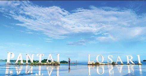 Foto Pantai Losari Makassar