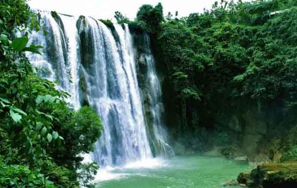 Gambar Air Terjun Lembah Bongok,Tuban
