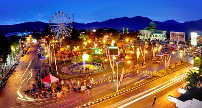 Gambar Alun-alun kota Batu Malang