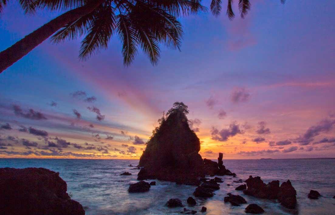 Gambar Pantai Karang Agung Kebumen