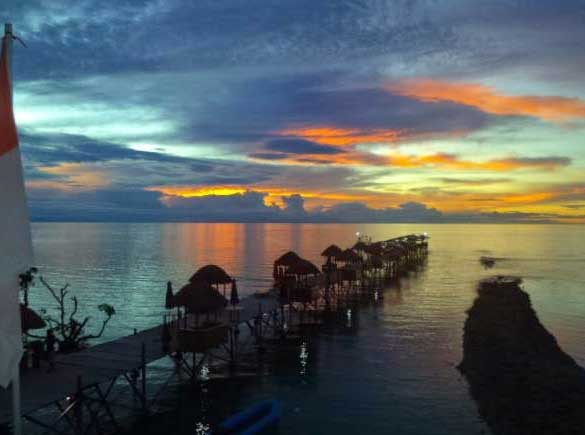 Gambar Pantai Monalisa Papua
