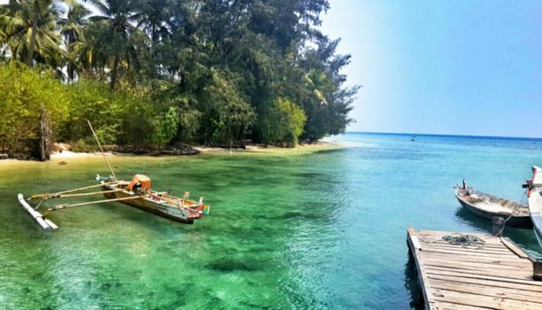 Gambar Pulau Sangiang, banten