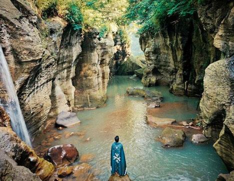 Tiket Masuk Sungai Cikahuripan