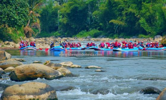 Paket Wisata Arum Jeram Sungai Serayu