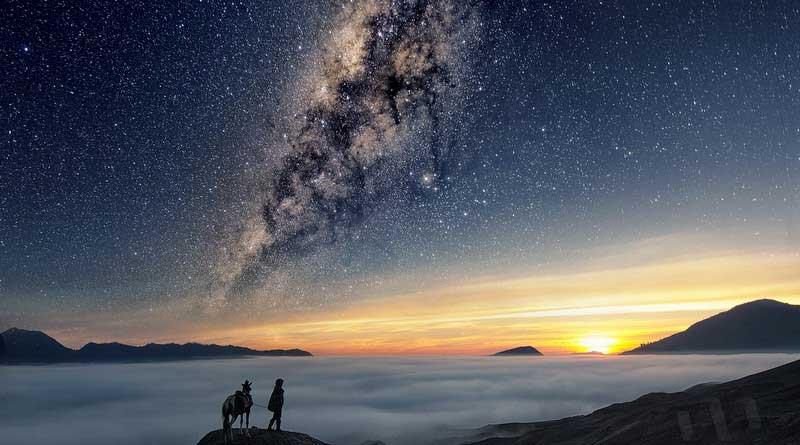 Sumber Bromo Milky Way