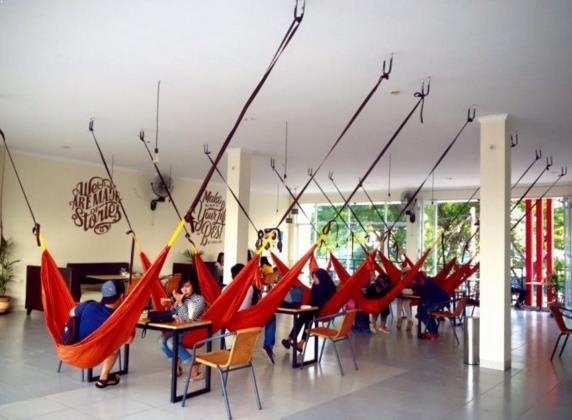 Cafe seru di tangerang Hammock Cafe