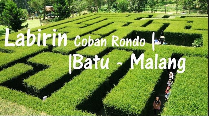 Coban Rondo Dan Taman Labirin