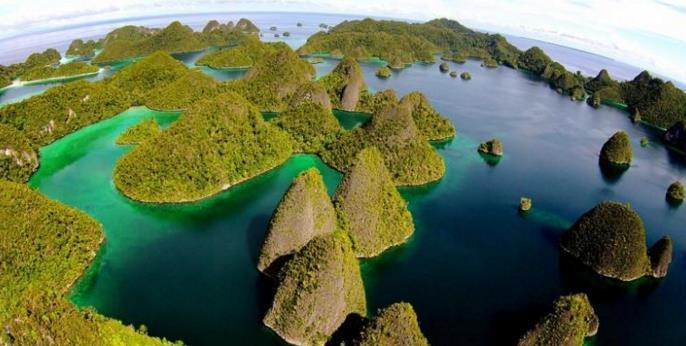 Foto Pulau Wayag Raja Ampat