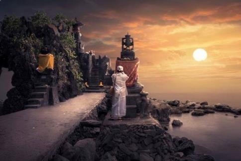 Foto Pura Batu Bolong lombok