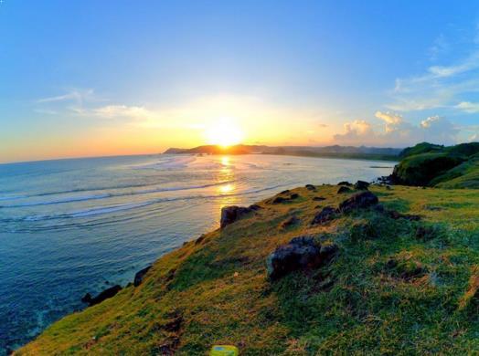 Gambar Bukit Merese Lombok