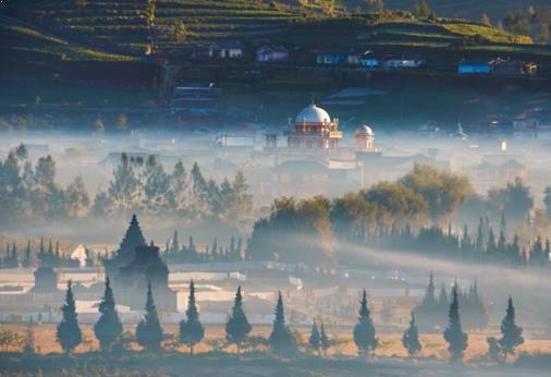Gambar Negeri Di Atas awan Dieng