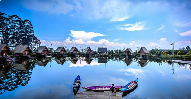Gambar Objek Wisata Dusun Bambu Lembang