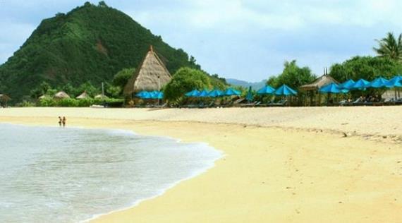 Gambar Pantai Kuta Lombok