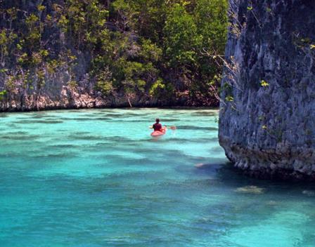 Gambar Pulau Batanta
