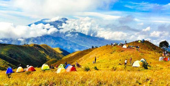 Gambar Wisata Gunung Prau Dieng