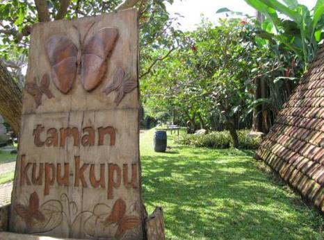 Gambar Wisata Taman Kupu-Kupu Bandung