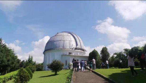 Gambar observatorium Bossca