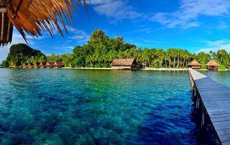 Gambar pulau salawati raja ampat