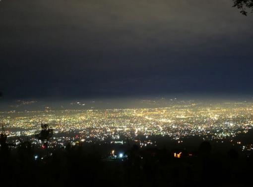 Pemandangan Bukit Bintang Baturaden