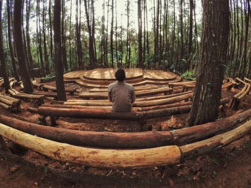 Wisata alam Seribu Batu Songgo Langit