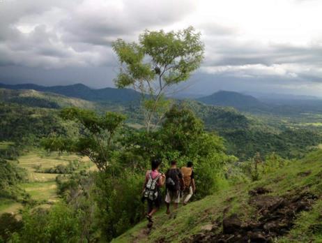 Gambar Jalur Track Bukit Sorongan Sulawesi