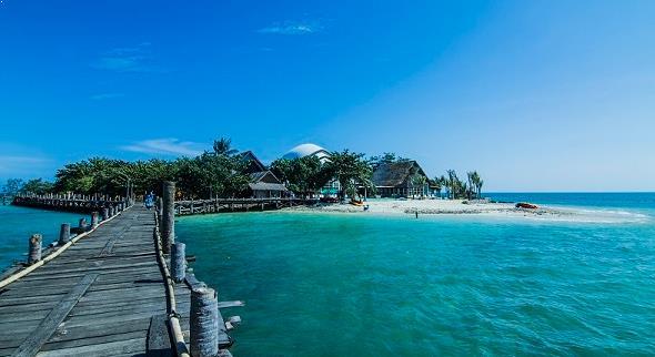 Gambar Pulau Umang