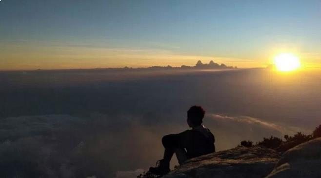 Gambar Puncak Gunung Ciremai