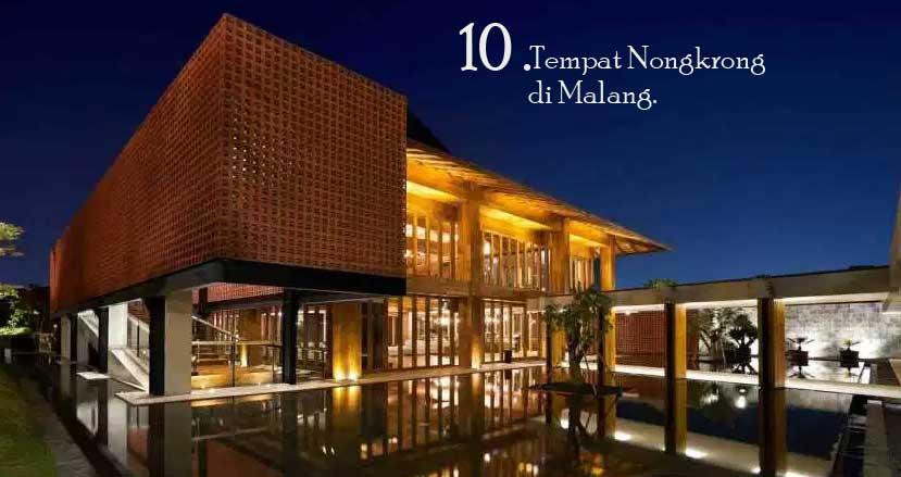 Tempat Nongkrong di Malang