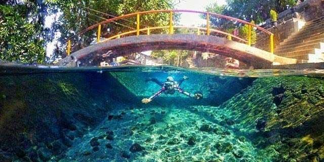 Obyek Wisata Mata Air Cokro