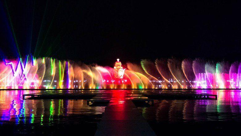 Taman Air Mancur Sri Baduga Purwakarta