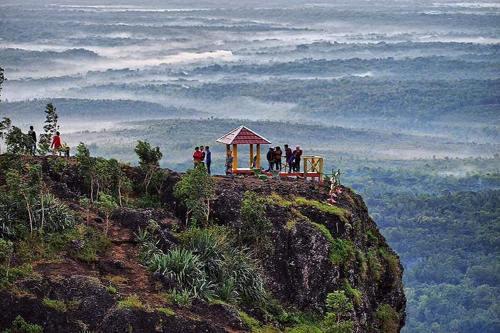 Keindahan Puncak 4G Gunung Kidul