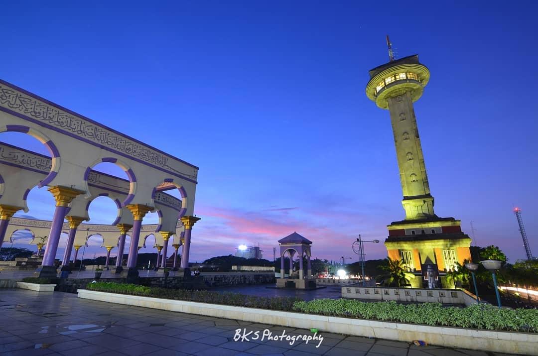 masjid agung simpang lima